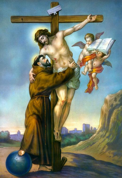 San François dans images sacrée sanfrancesco